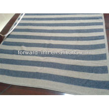 Fashion comfortable feel 100% cashmere blanket