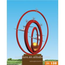 2016 Nouvelle sculpture sur l'art Sculpture de paysage de jardin de haute qualité