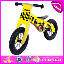 New and Popular Wooden Walk Bike Toy for Kid, Best Sale Children Balance Bike Wooden Bike, Latest Wooden Bike Toy for Baby W16c097