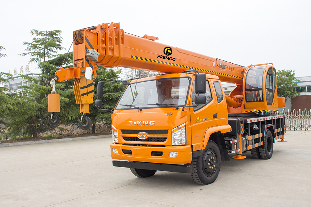 Electric Wheel Crane