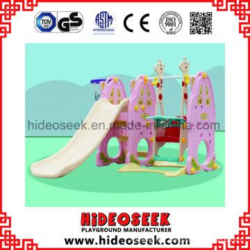 Supermarket Style Kids Slide Indoor Plastic for Sale