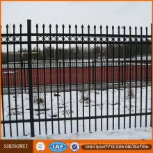 Clôture de maison de clôture en fer élégante européenne élégante