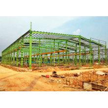 Materiales de construcción de acero para construcción de estructuras metálicas