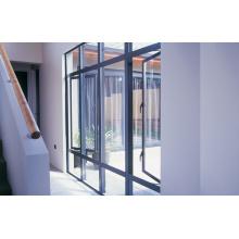 Gris Surface brute Double vitrage Aluminium Verre Fenêtres