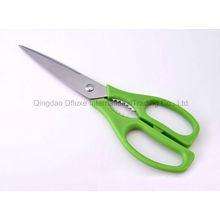 Stainless Steel Muliti Functional Nut Cracker Kitchen Scissors with Plastic Handle