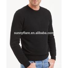 Suéter de cachemir en punto de alta calidad para hombres