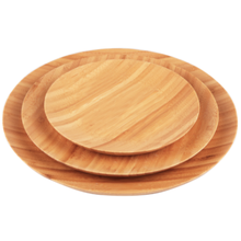 Natural Bamboo Food Plate Dishes