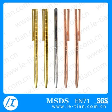 Penna d'argento MP-223, penna d'oro