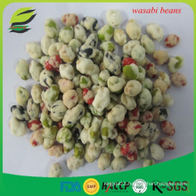 roasted and salted wasabi green peas