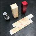 Boîte à emballer personnalisée de rouge à lèvres de rouge à lèvres d'impression de bricolage