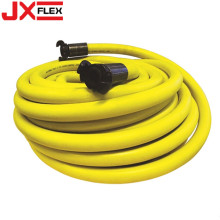 Yellow Water Irrigation Fiber Braided PVC Garden Hose