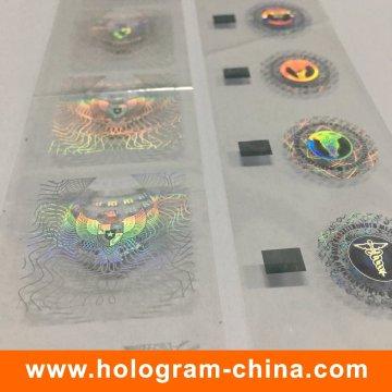Kundenspezifische Demetalation Holographische Heißprägefolie