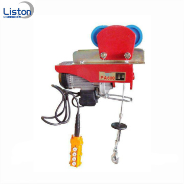 220v Electric Hoist Mini tali kawat hoist 200kg