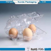 Bandeja plástica clara clara del huevo del PVC de QualityT de la venta caliente del precio barato