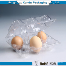 Hot Sale barato preço cheia Qualityt Clear Plastic PVC Egg Tray