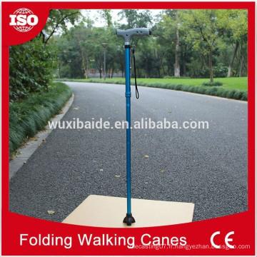 OEM canne à pied / OEM cnc tournant canne à pied / personnalisé en aluminium cnc canne de marche