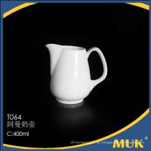 Großhandel von Eurohome Hersteller Lager Porzellan weißen Milchkrug