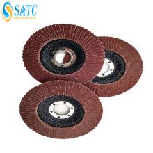 disque à lamelles abrasif pour machine à polir le métal et le bois