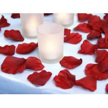 Seide Gewebe Hochzeit Dekorative Saflor Blütenblätter