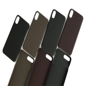 Colorful 100% Real Aramid Fiber Mobile Phone Case