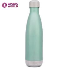 Botella de agua de acero al por mayor Stainaless a prueba de fugas al aire libre de la alta calidad 500ml