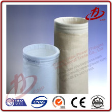 Baixo custo saco de filtro de coleta de poeira de indústria de cimento de tecido nomex