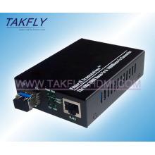 10/100/1000 m Sc Fiber Media Converter