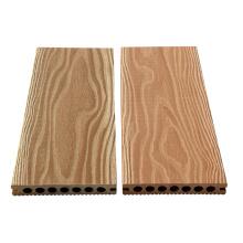 100% reciclado ao ar livre wpc piso de madeira de imitação de plástico