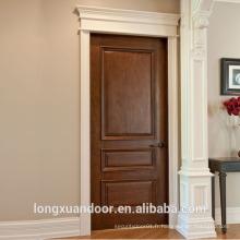 Porte extérieure de 24 pouces, conception de portes extérieures utilisées en bois, conception de porte en bois en teck