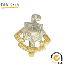 Promotional Gifts Custom Design Metal Embossed Lapel Pin for Soldier