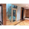 Pequeño ascensor de turismo de cristal elevador de una persona