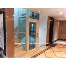 Small glass sightseeing home elevator one person lift