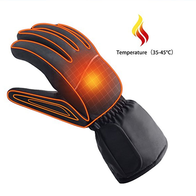 Safety Heated Electric shock gloves