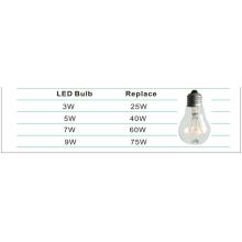 Bombilla de LED globo 9W A70