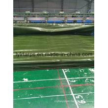 Waterproof China Military Green Plastic Tarpaulin Sheet, PE Tarpaulin