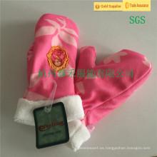 De alta calidad encantadora baratos Knit guantes profesionales fábrica de niños