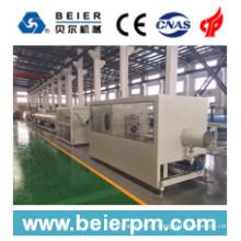 Linha de produção da extrusão da máquina plástica do tubo / tubulação do PVC de 75-250mm