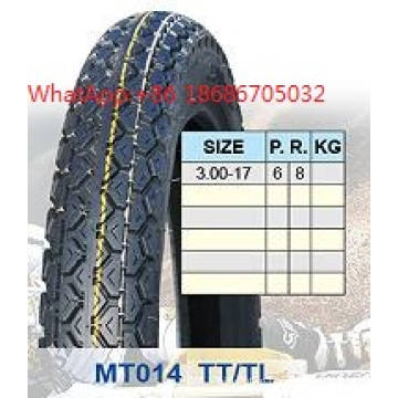 High Strength Motorcycle Tyre 3.00-17