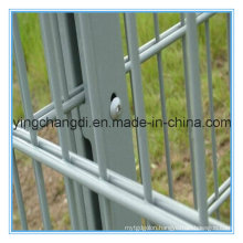 8/6/8mm Welded Galvanized/Powder Coated Double Rod Fence/Twin Wire Mesh Fence
