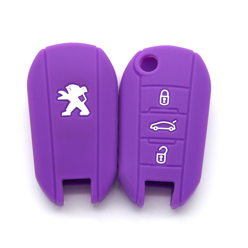Peugeot Remote 3Buttons Key Cover