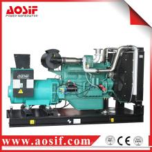 China Wuxi 160kw 200kva accionado por el generador diesel del motor de Wandi