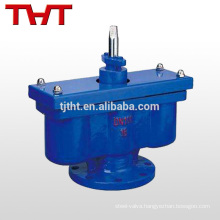 double orifice cast iron air release valve