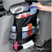 Backseat voiture multifonction refroidisseur siège arrière organisateur sac