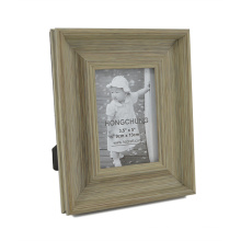 Distressed Finish Plastic Photo Frame for Home Decoration