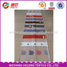 Leaf pattern printing 100 % cotton fabric for cotton bedding