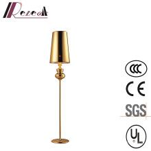 Lampadaire à pied décoratif Vintage en fer avec abat-jour en PVC