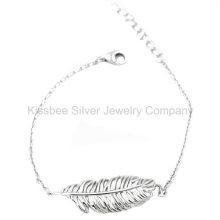 Ювелирные изделия способа 925 серебряные, ювелирные изделия латуни, браслет цепи (KT3051)