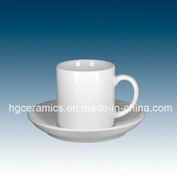 Sublimation Espresso Cup & Saucer, Coffee Cup$Saucer