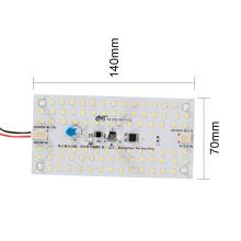 Módulo personalizado quadrado do teto da smd 2835 9W da CA
