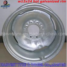 Стальной обод W12X24 с шинами для орошения 14.9X24 R1